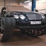 Bentley Continental GT độ điên rồ thành xe tăng