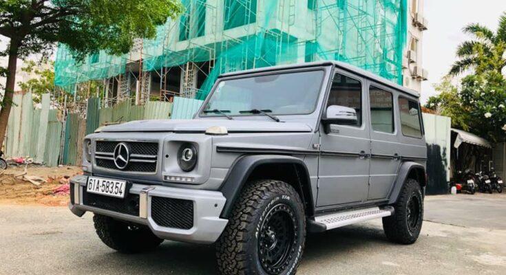 Mercedes G class bình Dương