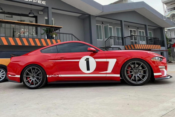 Hennessey Heritage Edition hàng khủng Ford Mustang