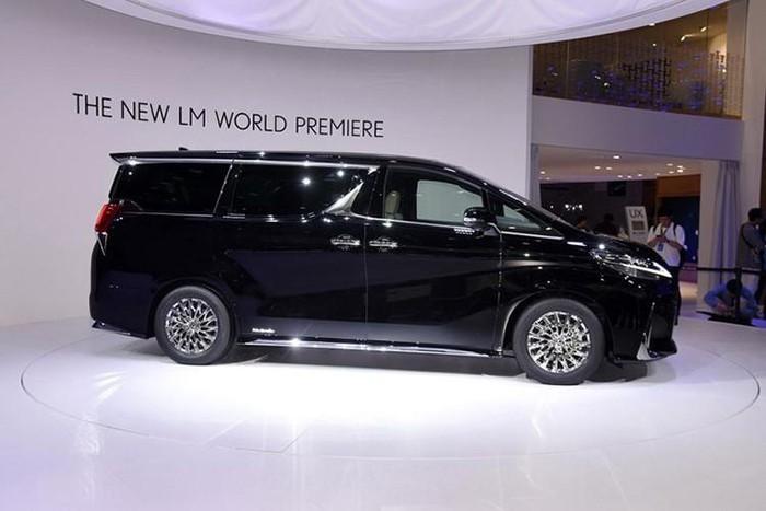 lexus minivan tuyệt đẹp cho đại gia