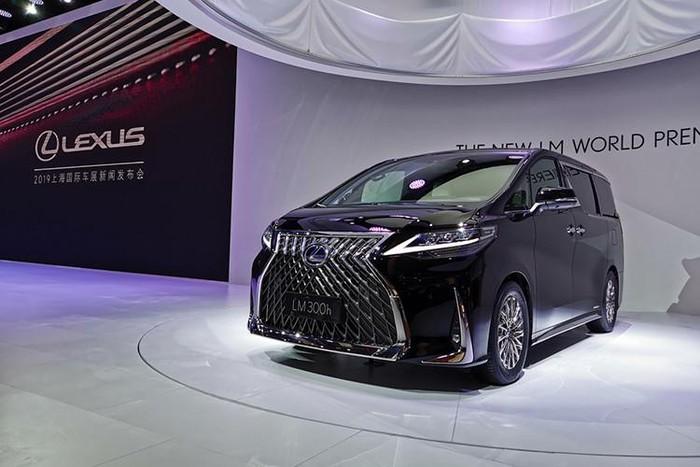 lexus minivan thiết kế ngoại thất