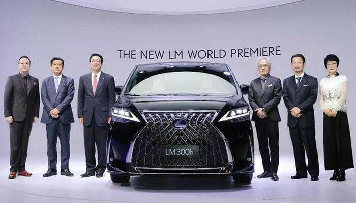 lexus minivan hạng siêu sang