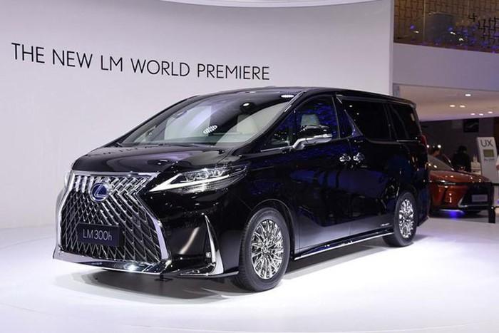 lexus minivan đẹp và cao cấp