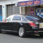Maybach S600 giá 14 tỷ bị vặt một bên gương giá 250 triệu đồng