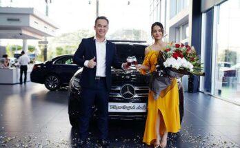 Phạm Quỳnh Anh mua xe sang
