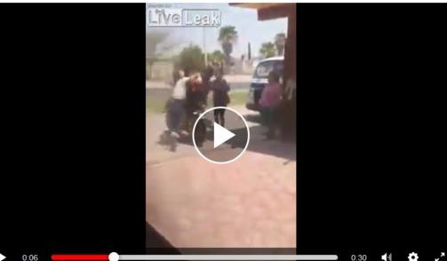 Video 2 người đàn ông bị vật ngã và đánh gây choáng