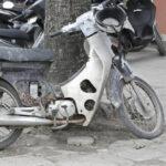 Xe Honda Cub 70 hàng cũ nát giá chỉ 2 triệu đồng