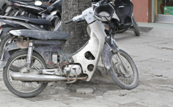 Xe Honda Cub rẻ rách