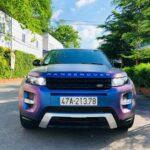 Ranger Rover Evoque Dynamic độ đổi màu kiểu tắc kè hoa