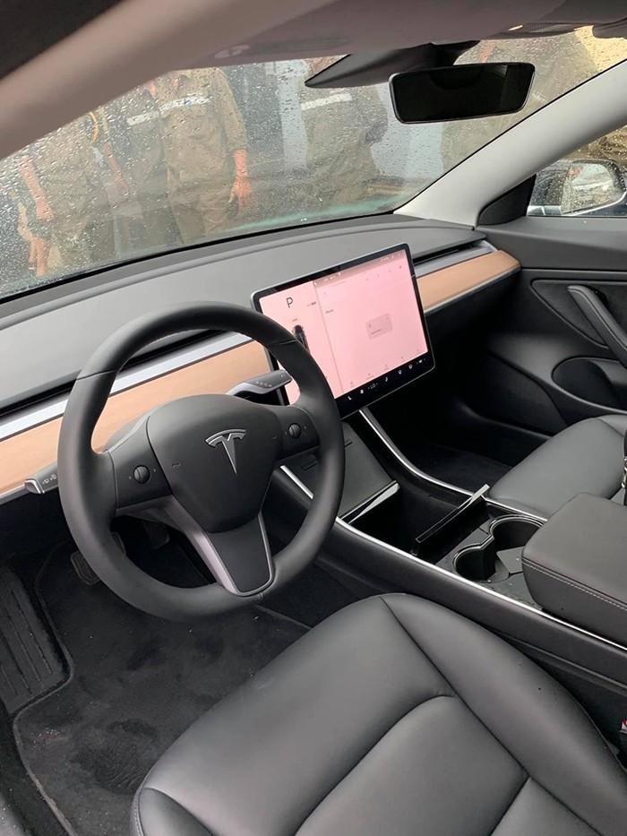 Nội thất xe Tesla đẹp
