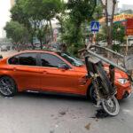 Xe chở sắt vụn đâm BMW M3 độ giá 2 tỷ