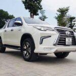Dân chơi Phú Thọ độ Toyota Hilux thành Lexus LX570 bán tải