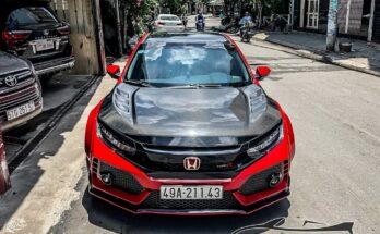 Honda độ Type R khủng và lạ mắt