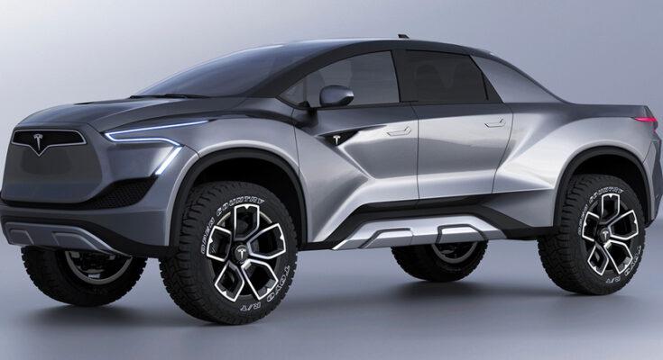 Siêu xe bán tải Tesla bán tải sang trọng