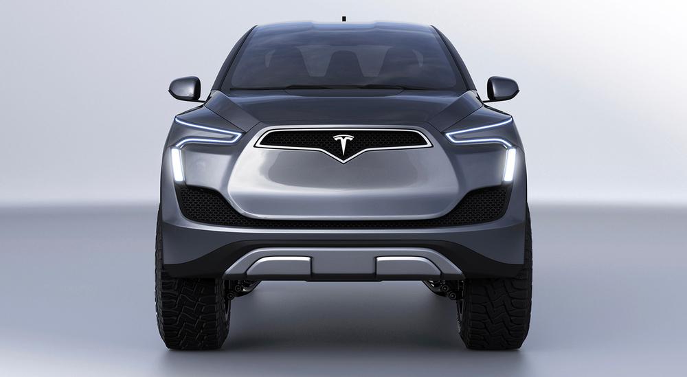 Siêu xe bán tải Tesla đẹp