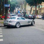 Siêu xe Mercedes SLR Mclaren độc nhất giá 20 tỷ ở VN vẫn rất đẹp và hiện đại