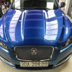 Jaguar XF màu xanh cực hiếm ở Việt Nam dùng 3 năm vẫn đẹp như mới
