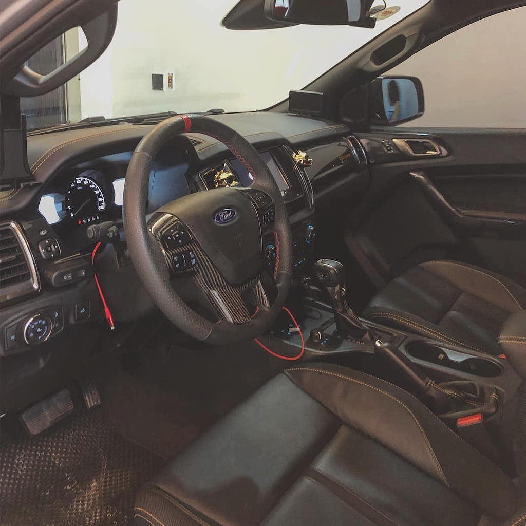 Nội thất xe Ford Range