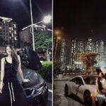 Hot Girl Mai Sương thường xuyên chụp ké với siêu xe ?