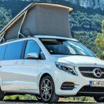 Đánh giá chi tiết nhà di động Mercedes Marco Polo hiện đại