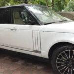 Loạt xe Range rover bị vặt gương xe giá hàng trăm triệu đồng