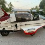 Pulse Siêu xe mô tô hình dáng máy bay