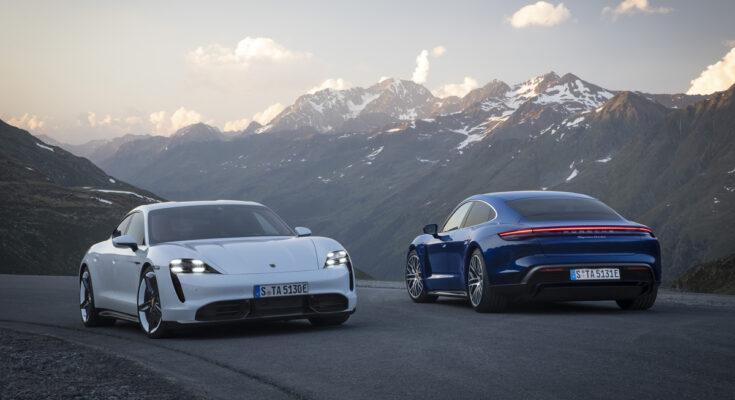 Xe Porsche Taycan khủng