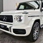 Siêu SUV Mercedes G63 AMG giá 11 tỷ màu trắng đầu tiên tại VN