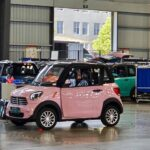 Xe ô tô điện nhỏ xinh giá 75 triệu khiến chị em Việt say đắm