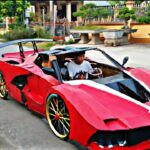 Chàng trai trẻ tuổi ở Quảng Ninh tự chế siêu xe nhái theo Ferrari LaFerrari FXX-K