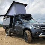Ngắm bán tải kiêm nhà di động Mercedes X class độ