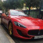 Siêu xe Maserati Granturismo màu đỏ độc nhất Việt Nam