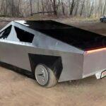 Siêu xe bán tải nhái Tesla Cybertruck giá 300 triệu cực đẹp
