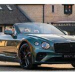 Xe siêu sang Bentley Continental GT mui trần bản độc