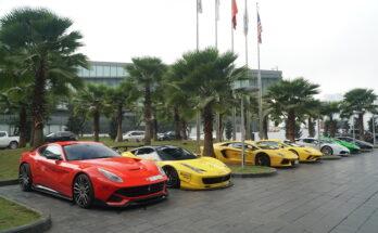 Dàn siêu xe đại gia Việt