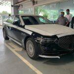 Xe sang Hàn Quốc Genesis G90 về Việt Nam giá 3,5 tỷ