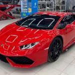 Dân chơi Việt thừa tiền đổi màu siêu xe Lamborghini Huracan