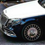 Maybach S560 hơn 12 tỷ của MC Ngọc Trinh màu rất nổi bật