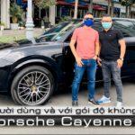 Đại gia Sài Gòn thêm Option 1,6 tỷ cho Porsche Cayenne 2020