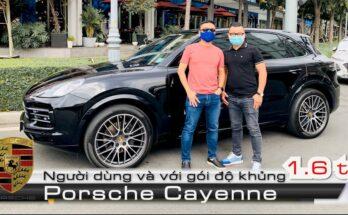 Đại gia đánh giá Porsche Cayenne Full option 2020