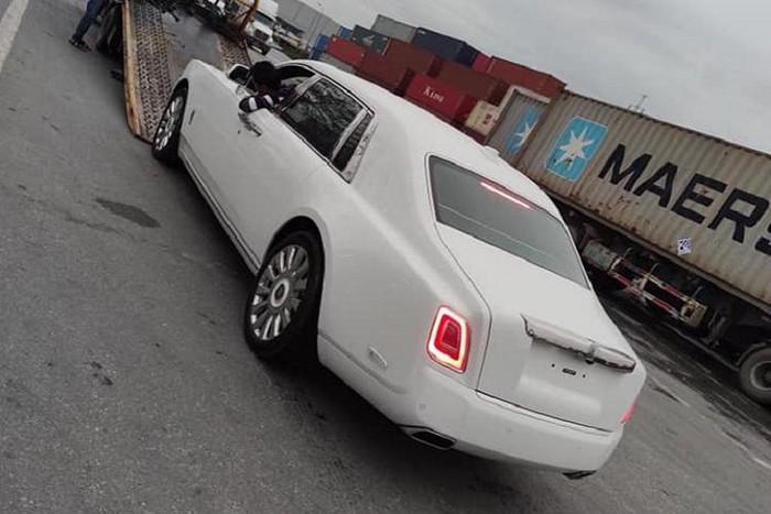 Mâm xe Rolls Royce Phantom