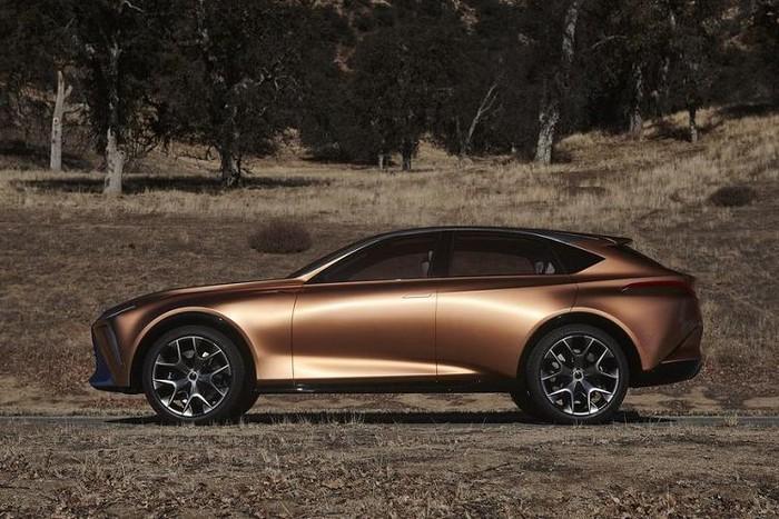 Kích thước xe SUV Lexus Lq đời mới