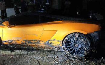 Lamborghini tắm sông baoxehoi