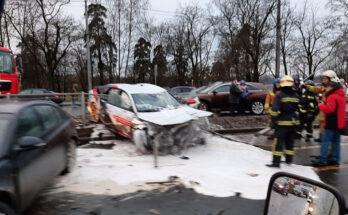 Audi A7 đẹp bị tai nạn lái thử