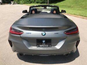 Đuôi sau xe BMW Z4 2020