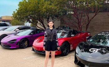 Hot girl đi xe đẹp ở Trung Quốc