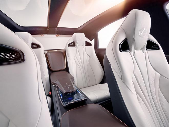 Nội thất siêu sang Lexus LQ đời mới