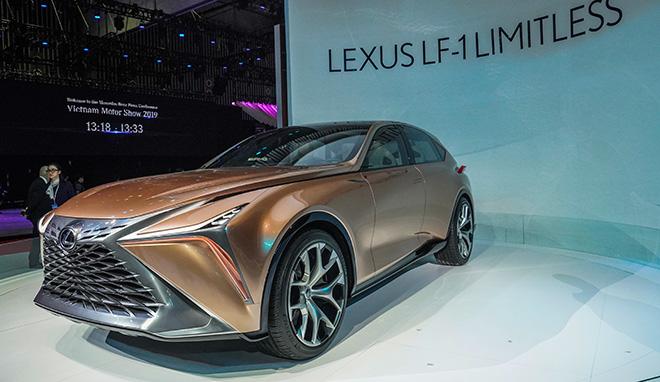 Xe sang Lexus LQ 2022 đời mới