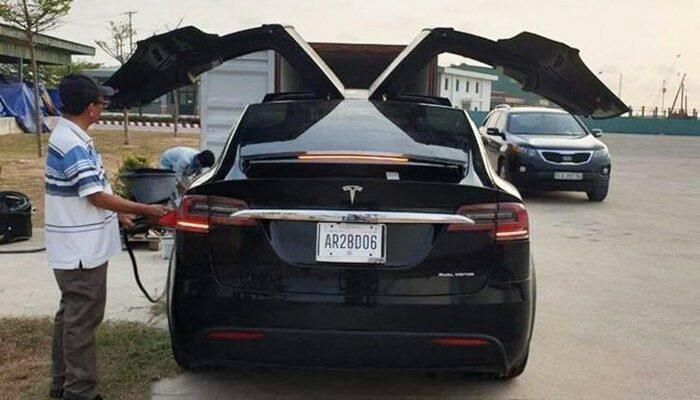 Tesla Model X Phú Thọ đẹp