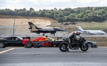 Video siêu xe đẹp đua với nhau